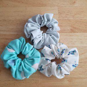 Handmade Scrunchies - Set of 3
